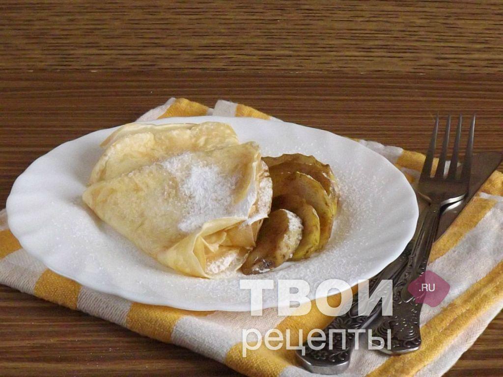 французские блинчики рецепт с фото