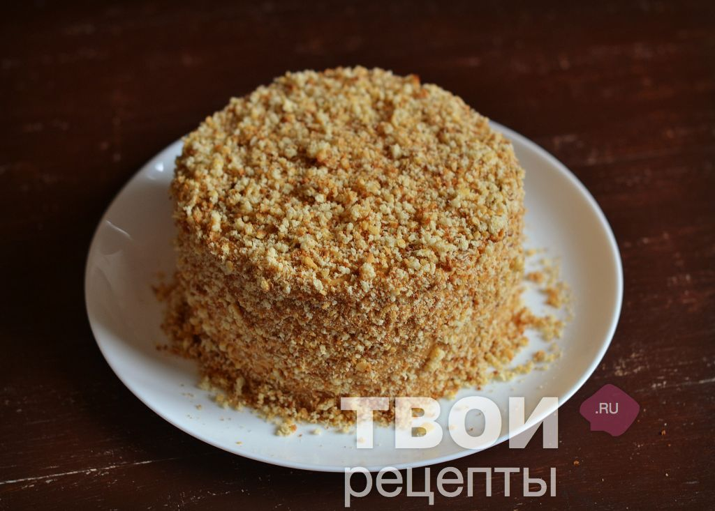 Рецепт поленница с вишней рецепт пошагово