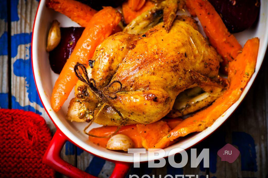 Цыпленок с картошкой в духовке рецепт с пошаговый рецепт 51
