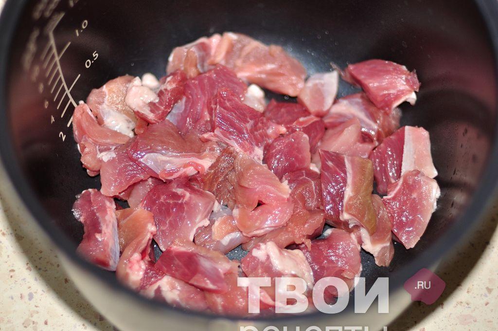 Мякоть свинины в мультиварке рецепты