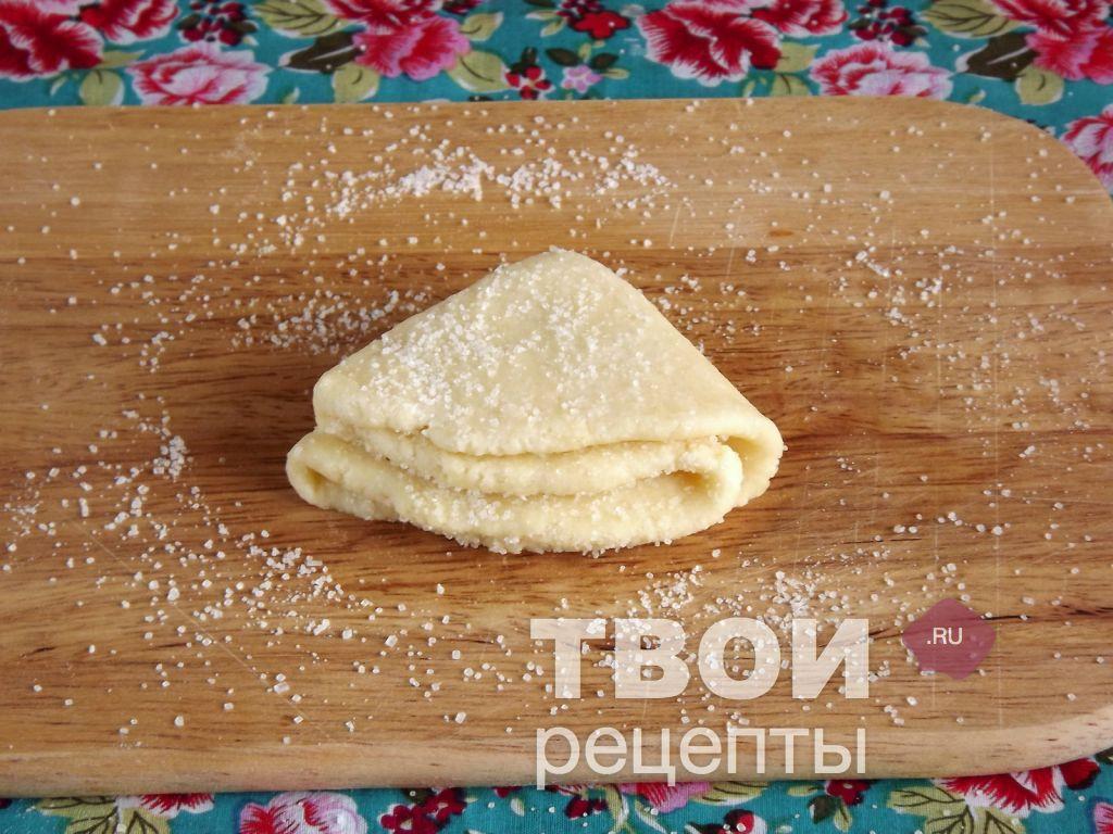 Рецепт печенья из творога пошаговый рецепт