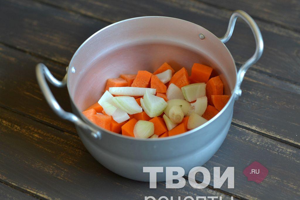 тыквенно морковный суп до года