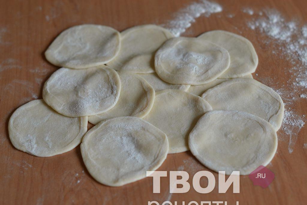 Как лепить манты с картошкой пошаговое