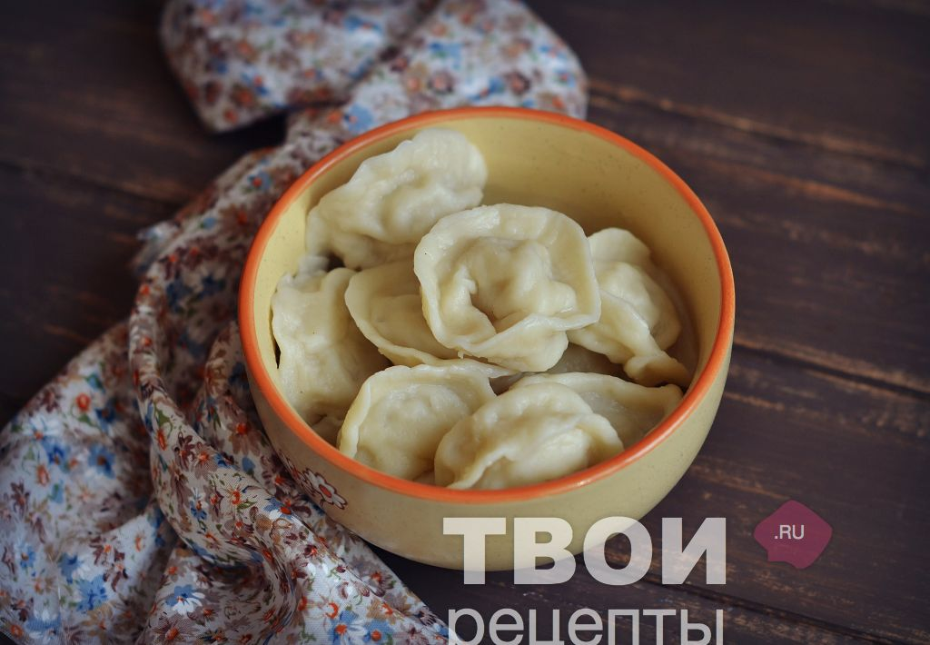 Рецепт вареников с сырой картошкой пошаговый рецепт с