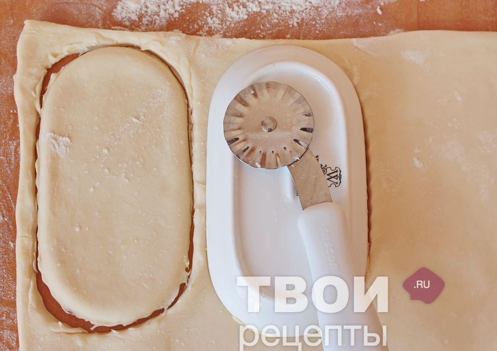 Слоеные язычки с сахаром рецепт с фото