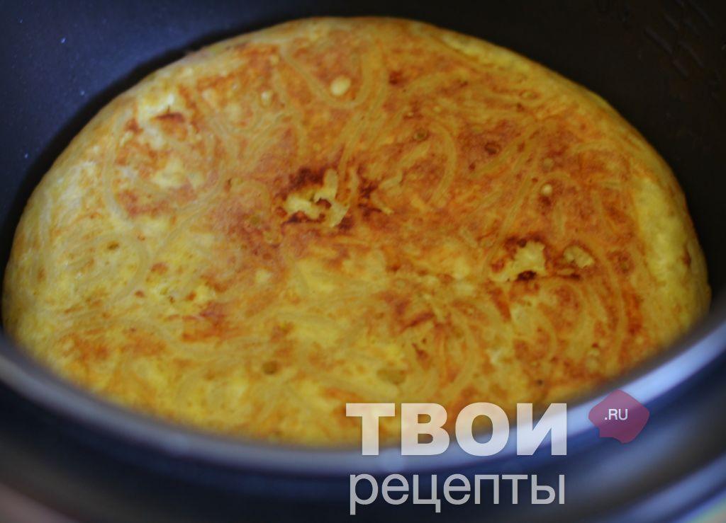 Запеканка из макарон с яйцом в мультиварке рецепты с фото