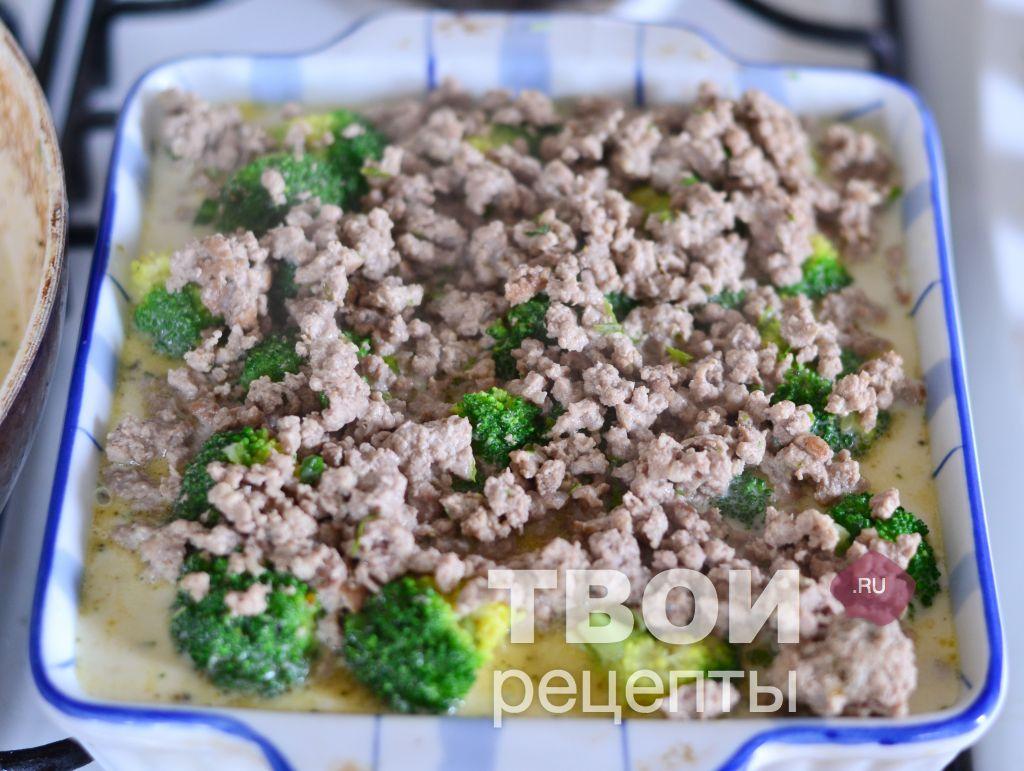 рецепт макароны сырые с фаршем в духовке рецепт