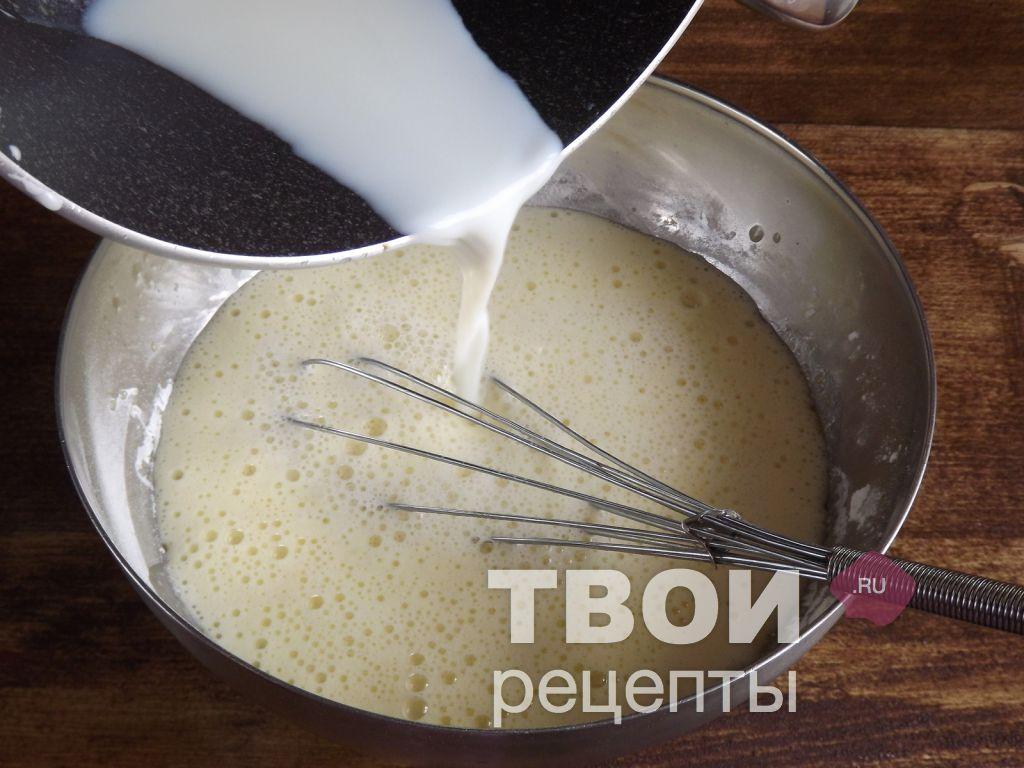 Заварной крем рецепт с пошагово из сметаны