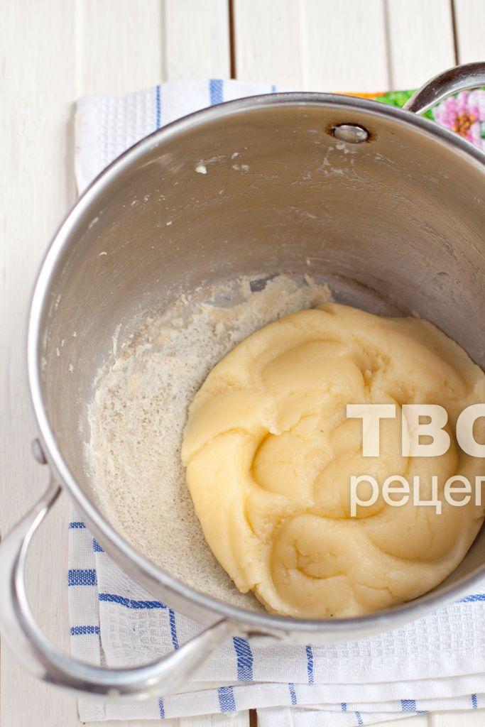 Заварной творожный крем для торта рецепт пошагово