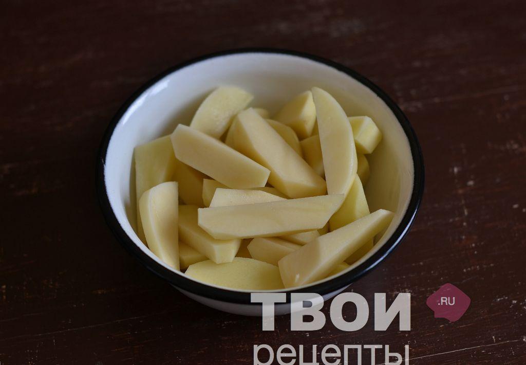 Картошка с мясом с пошаговым