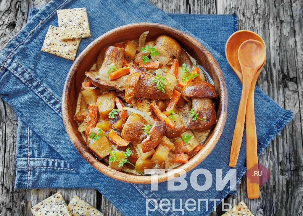 Жаркое с овощами пошаговый рецепт