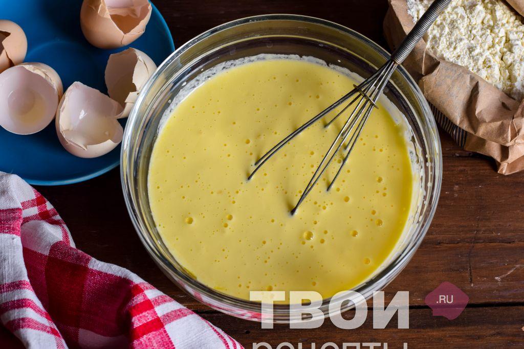 Жидкое тесто для беляшей на кефире рецепт пошагово