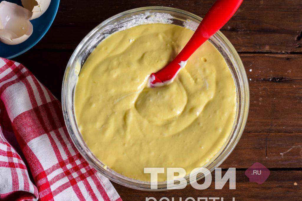 Быстрое жидкое тесто для пирога рецепт