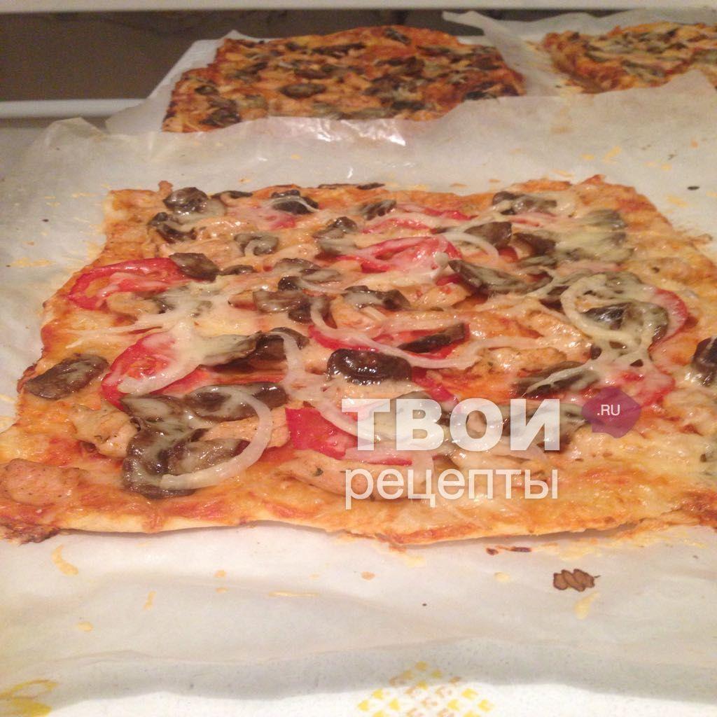 Пицца с грибами пошаговый рецепт с фото - Вкуссовет. ру 84