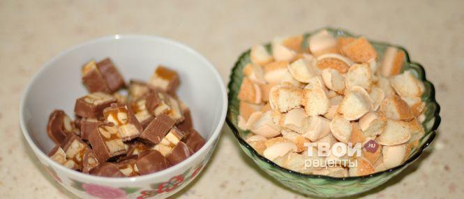 Шоколадный мусс Марс  кулинарный рецепт