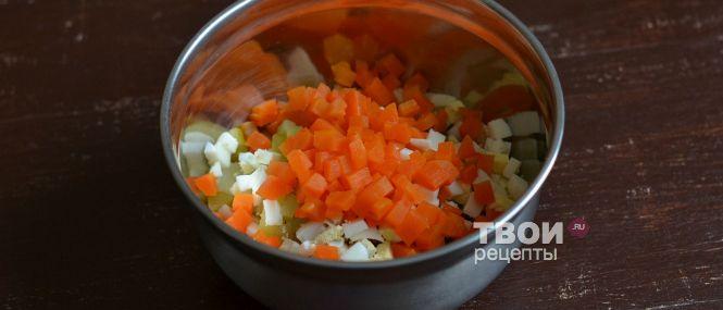 Салат ежик рецепт с пошаговым