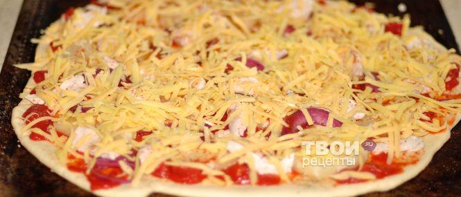 рецепты домашней пиццы в духовке без дрожжей