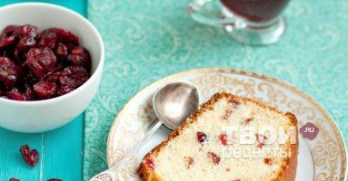 Клюквенно-апельсиновый кекс рецепт с фото пошагово