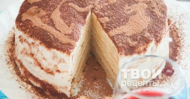 Сметанный торт рецепт с фото