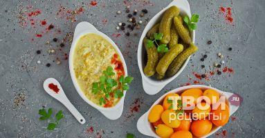 Соус из солёных огурцов - вкусный рецепт с пошаговым фото