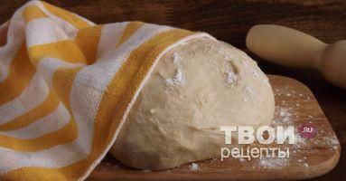 рецепт пиццы тесто дрожжевое
