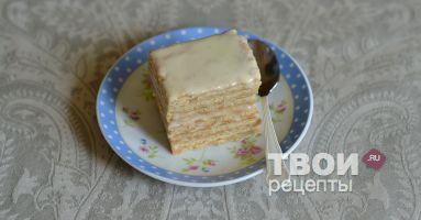 Торт без выпечки - вкусный рецепт с пошаговым фото