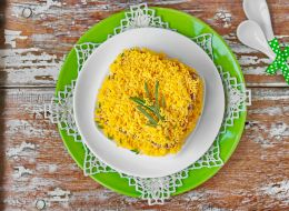 сытные салаты рецепты