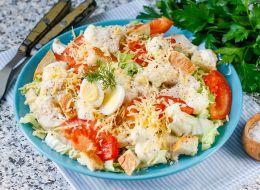 Простые вкусные салаты рецепты